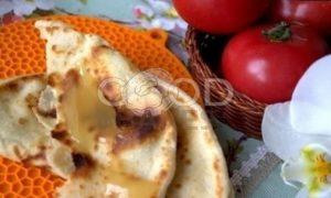 Лепешки с картофельно-сырной начинкой рецепт шаг 27