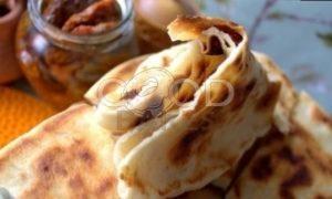 Лепешки с картофельно-сырной начинкой рецепт шаг 32