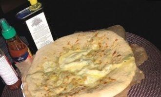 Лепешки с сыром и зеленью кулинарный рецепт