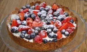 Летний тарт с ягодами рецепт шаг 10