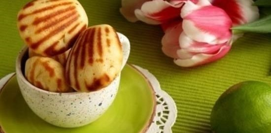 «Мадлен» с лаймом и имбирем кулинарный рецепт