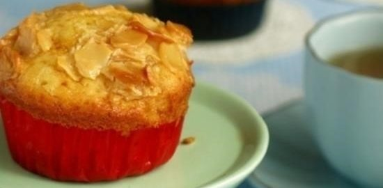 Маффины апельсиново-миндальные кулинарный рецепт