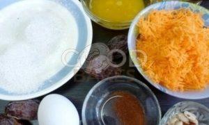 Морковное печенье с орехом пекан рецепт шаг 1