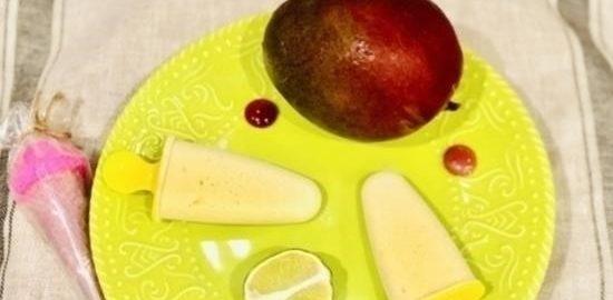 Мороженое «Манговое наслаждение» кулинарный рецепт