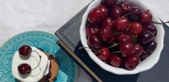 Мороженое с черешневым желе кулинарный рецепт