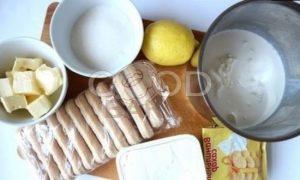 Нежнейший лимонный чизкейк рецепт шаг 1