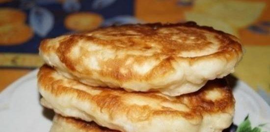 Оладьи-пышки кулинарный рецепт