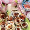 Оладьи в виде роз «Мечта буржуя» кулинарный рецепт