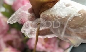 Оладьи в виде роз «Мечта буржуя» рецепт шаг 9