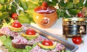 Паштет из шпрот с редисом кулинарный рецепт
