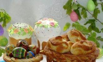 Пасхальная съедобная корзина кулинарный рецепт