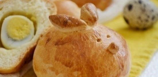 Пасхальные пирожки с перепелиными яйцами кулинарный рецепт