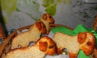 Пасхальные сырные барашки кулинарный рецепт