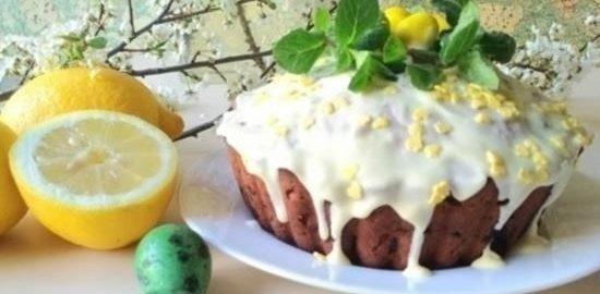 Пасхальный кекс кулинарный рецепт