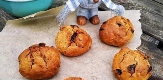 Печенье «Изюминка» кулинарный рецепт