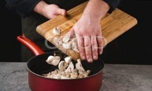 Пенне с курицей и сливочным соусом рецепт шаг 3