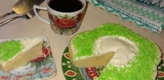 Пирог «Минутка» кулинарный рецепт