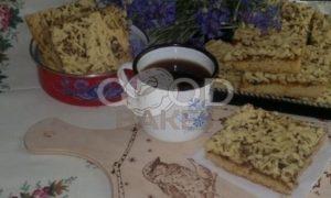 Пирог с джемом и орехами рецепт шаг 13