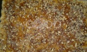 Пирог с джемом и орехами рецепт шаг 8