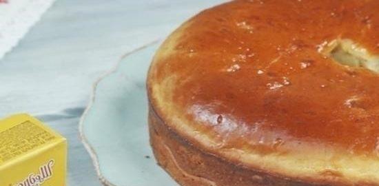 Пирог с мясом и грибами кулинарный рецепт