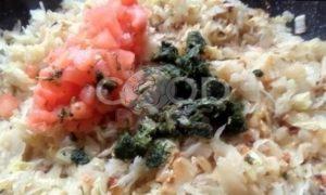 Пирожки с капустой в сковороде рецепт шаг 18