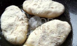 Пирожки с капустой в сковороде рецепт шаг 23