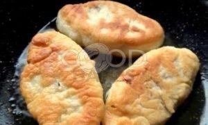 Пирожки с капустой в сковороде рецепт шаг 24