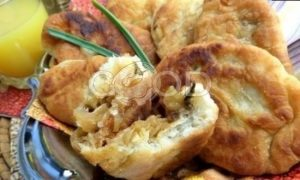 Пирожки с капустой в сковороде рецепт шаг 29