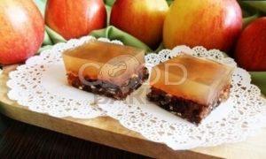 Пирожные с яблочным мармеладом рецепт шаг 13