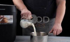 Пшенично-ржаной хлеб с шоколадной пастой рецепт шаг 6