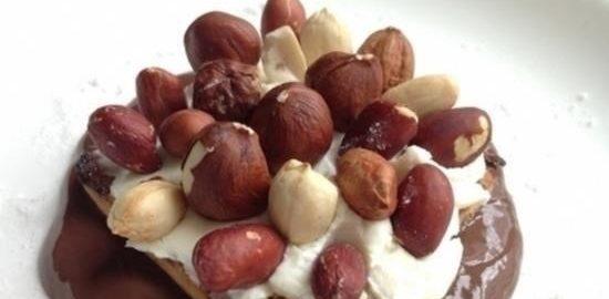 Пудинг с орехами кулинарный рецепт