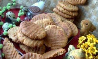 Рассыпчатое арахисовое печенье кулинарный рецепт
