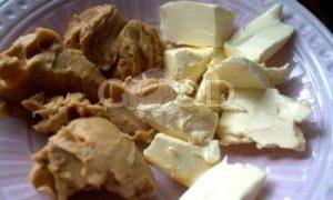 Рассыпчатое арахисовое печенье рецепт шаг 1