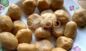 Рассыпчатое арахисовое печенье рецепт шаг 7