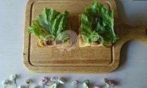 Сэндвич с карамелизированным луком рецепт шаг 13
