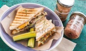 Сэндвич с овощами и тунцом рецепт шаг 8