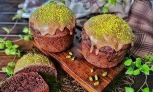Шоколадно-фисташковый кулич кулинарный рецепт