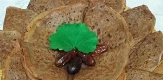 Шоколадные блинчики с корицей и ванилью кулинарный рецепт