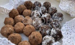 Шоколадные трюфельные шарики из печенья рецепт шаг 11
