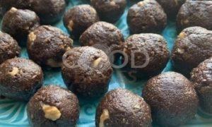 Шоколадные трюфельные шарики из печенья рецепт шаг 3