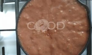 Шоколадный пудинг с амаретто рецепт шаг 5