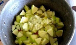Штрудель с яблоками рецепт шаг 2