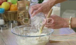 Сконы с грецкими орехами и сыром рецепт шаг 3