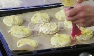 Сконы с грецкими орехами и сыром рецепт шаг 8