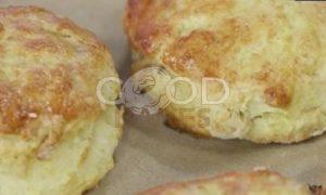 Сконы с грецкими орехами и сыром рецепт шаг 9