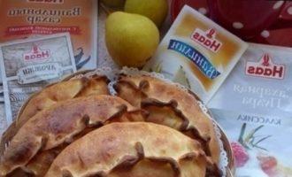 Сливочно-ванильные пирожки с грушами кулинарный рецепт