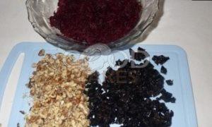 Свекольный мармелад с орехами и черносливом рецепт шаг 1