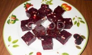 Свекольный мармелад с орехами и черносливом рецепт шаг 8