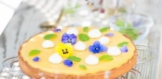 Тарт с лимоном и маракуйей кулинарный рецепт