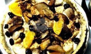 Тарт с творогом и грушами рецепт шаг 6